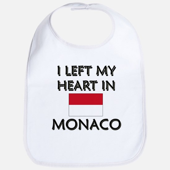 I Left My Heart In Monaco Bib