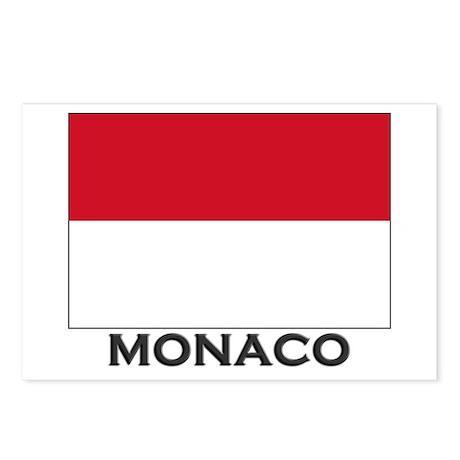 Monaco Flag Gear Postcards (Package of 8)