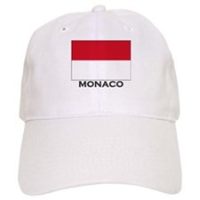 Monaco Flag Gear Baseball Cap
