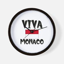 Viva Monaco Wall Clock