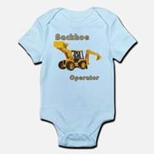 Backhoe Infant Bodysuit