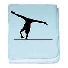 Gymnastic - Floor Exercise baby blanket