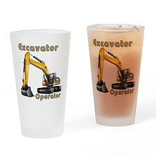 The Excavator Drinking Glass