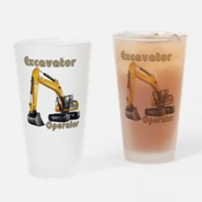 The Excavator Drinking Glass