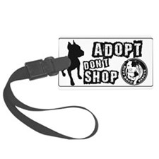 Adopt Dont Shop Luggage Tag