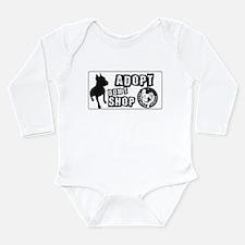Adopt Dont Shop Long Sleeve Infant Bodysuit