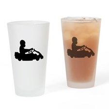 Go-Karting Drinking Glass