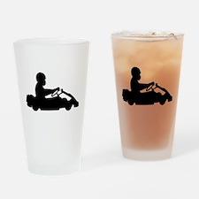 Go-Karting Drinking Glass