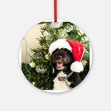 Bo the Dog Ornament (Round)
