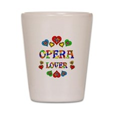 Opera Lover Shot Glass