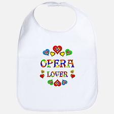 Opera Lover Bib