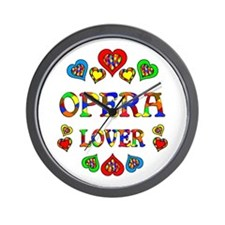 Opera Lover Wall Clock