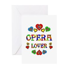 Opera Lover Greeting Card