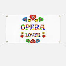 Opera Lover Banner