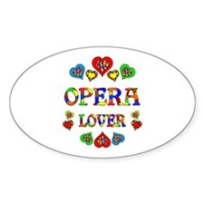 Opera Lover Decal