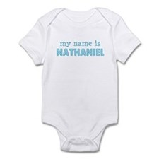 My name is Nathaniel Infant Bodysuit