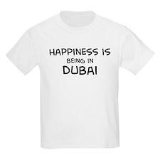 Happiness is Dubai Kids T-Shirt