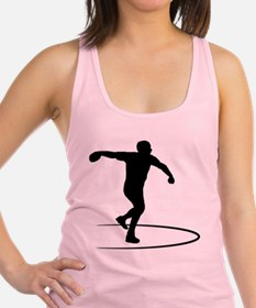 Discus Throwing Racerback Tank Top