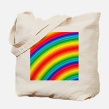 Rainbow Striped Pattern Tote Bag