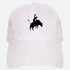 Bull Riding Baseball Baseball Cap