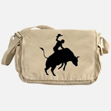 Bull Riding Messenger Bag