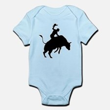 Bull Riding Infant Bodysuit