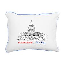 SMK Rectangular Canvas Pillow