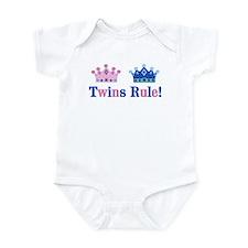 Twins Rule! (Girl & Boy) Infant Bodysuit