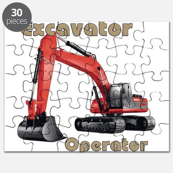 Red Excavator Puzzle