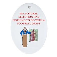 med school joke Ornament (Oval)