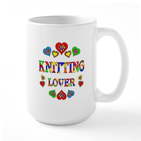 Knitting Lover Large Mug