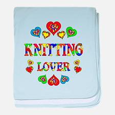 Knitting Lover baby blanket
