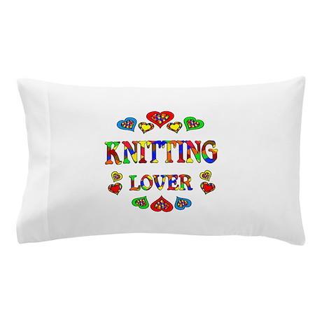 Knitting Lover Pillow Case