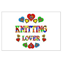 Knitting Lover Posters