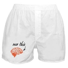 Use brain Boxer Shorts