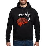 Use brain Hoodie (dark)