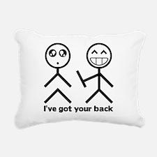 Ive got your back Rectangular Canvas Pillow