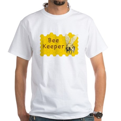 Bee Keeper ~ White T-Shirt
