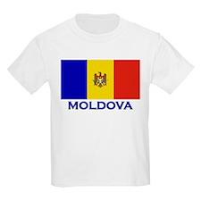 Flag of Moldova Kids T-Shirt