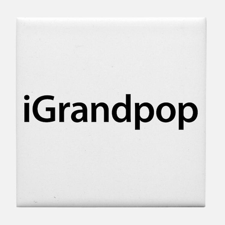 iGrandpop Tile Coaster