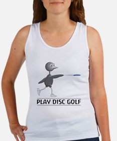 Play Disc Golf Women's Tank Top