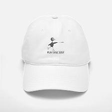 Play Disc Golf Baseball Baseball Cap