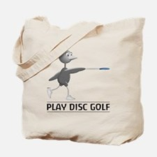Play Disc Golf Tote Bag