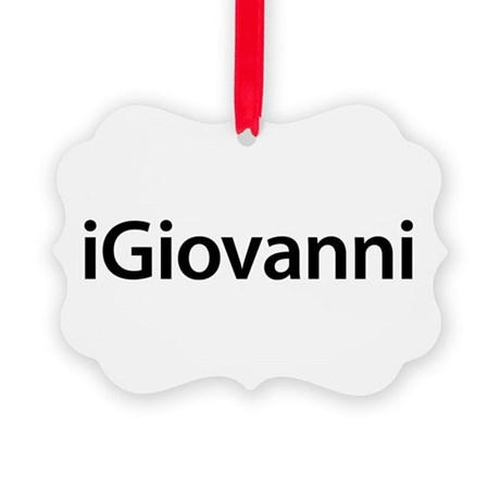 iGiovanni Picture Ornament