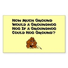 Celebrate Groundhog Day Decal