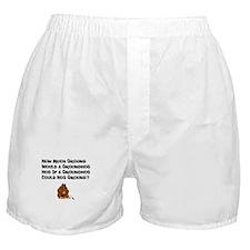 Celebrate Groundhog Day Boxer Shorts