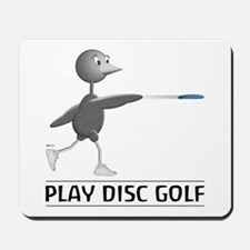 Play Disc Golf Mousepad