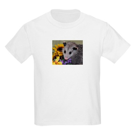 Posing Opossum Kids Light T-Shirt