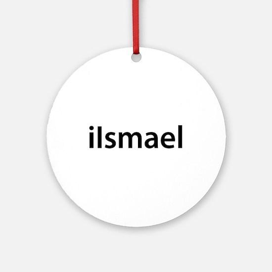 iIsmael Round Ornament