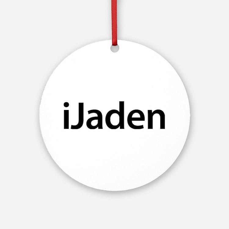 iJaden Round Ornament
